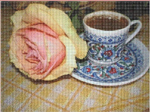 Still-life with coffee | Crafting | Cross-Stitch | Miscellaneous