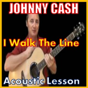 Learn to play I Walk The Line by Johnny Cash | Movies and Videos | Educational