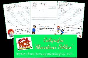 HCS - Caligrafia Abecedario Biblico | Other Files | Graphics