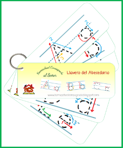 HCS - Llaveros didacticos abecedario y figurar | Other Files | Graphics