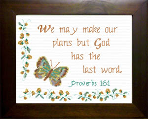 Last Word | Crafting | Cross-Stitch | Religious