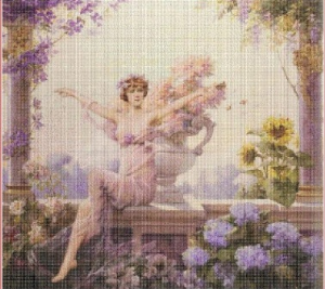 Summer (Leto) | Crafting | Cross-Stitch | Miscellaneous