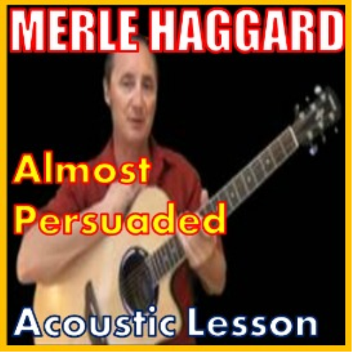 First Additional product image for - Learn to play Almost Persuaded by Merle Haggard