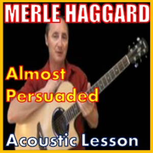 learn to play almost persuaded by merle haggard