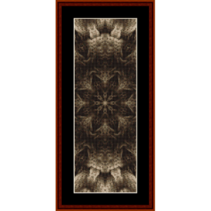 Fractal 477 Bookmark cross stitch pattern by Cross Stitch Collectibles | Crafting | Cross-Stitch | Other