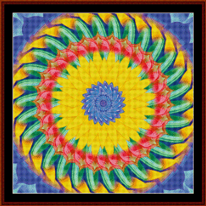 Fractal 472 cross stitch pattern by Cross Stitch Collectibles | Crafting | Cross-Stitch | Other