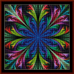 Fractal 473 cross stitch pattern by Cross Stitch Collectibles | Crafting | Cross-Stitch | Wall Hangings