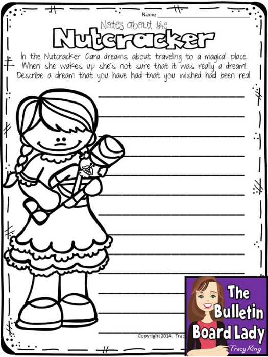 First Additional product image for - Nutcracker Writing Prompts
