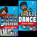 Winter Freeze Dance and Creative Movement | Other Files | Everything Else