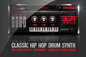 industry standard hip-hop drum kit