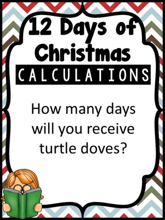 First Additional product image for - Calculating ChristmasBulletin Board