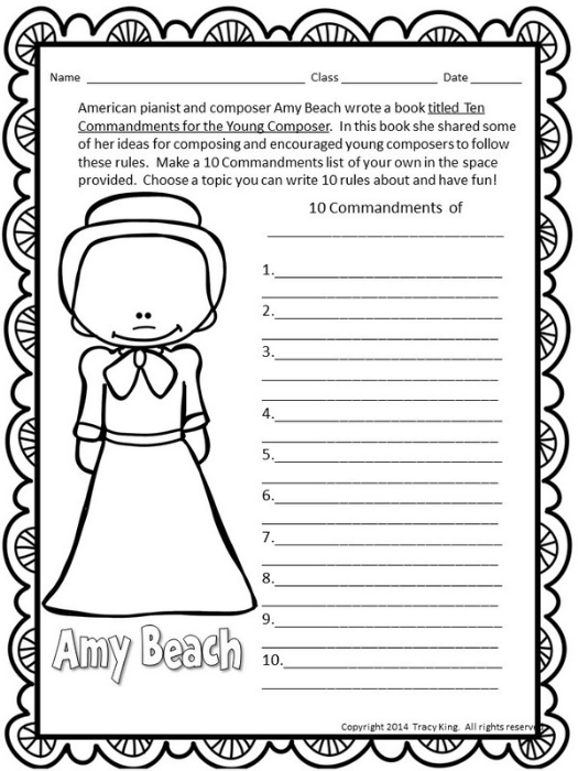 Second Additional product image for - Amy Beech Composer of the Month