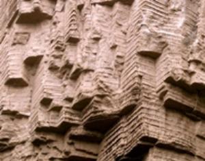 loan creek falls rock formation