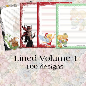 Lined Volume 1 | Crafting | Paper Crafting | Other