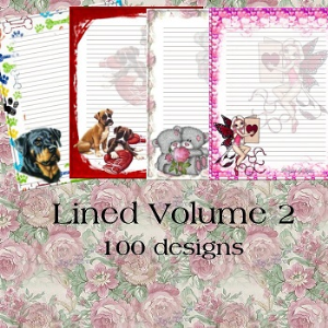 Lined Volume 2 | Crafting | Paper Crafting | Other