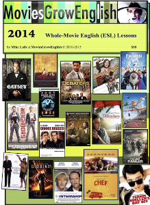 MoviesGrowEnglish MOVIE ESL  LESSON YEARBOOK-2014 | eBooks | Education
