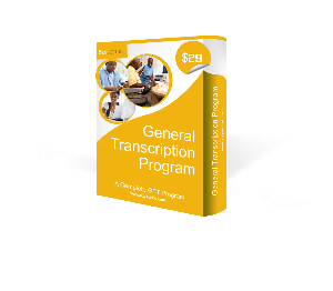 general transcription training software