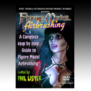 Figure Model Airbrushing | Movies and Videos | Special Interest