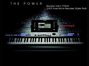 nouveauté 2015 1059 styles tyros 3/4/5 psr s clavinova cvp serie 500