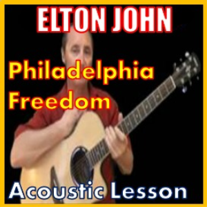 Learn to play Philadelphia Freedom by Elton John | Movies and Videos | Educational