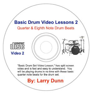 basic drum set lesson 2