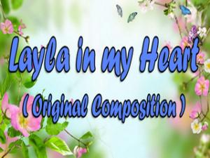 Layla In My Heart Music Piano sheet + MIDI | eBooks | Sheet Music