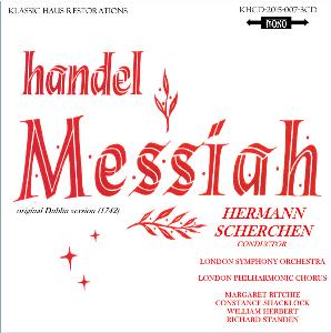 Handel: Messiah - LPO Choir/Soloist/London SO/Hermann Scherchen | Music | Classical