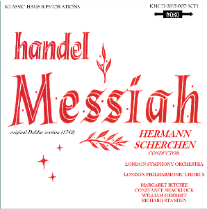 Handel: Messiah - LPO Choir/Soloist/London SO/Hermann Scherchen | Music | Classical