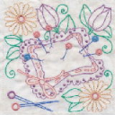 Sewing In Stitches Machine Embroidery 6x6 DST | Crafting | Embroidery