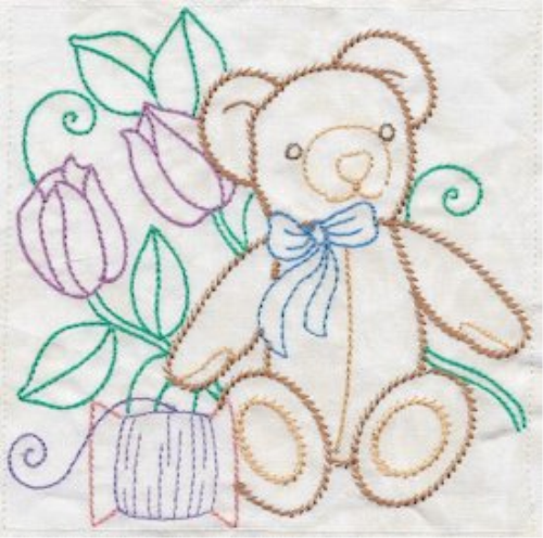 First Additional product image for - Sewing In Stitches Machine Embroidery 5x5 HUS