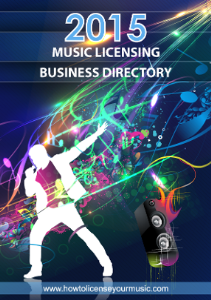 2015 music licensing business directory