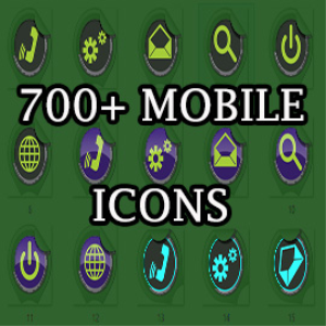 700+ mobile icons (value pack)