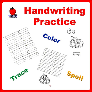 handwriting practice printable workbook (prek-1st grade)