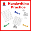 Handwriting Practice Printable Workbook (PreK-1st Grade) | eBooks | Education