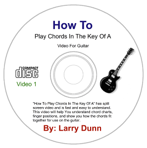 how to play chords in the key of a