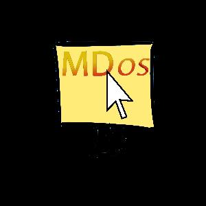 mdos computer repair logo and assets