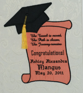 Graduation Congratulations! JEF | Crafting | Embroidery