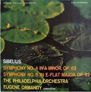 Sibelius: Symphonies Nos. 4 & 5 - Philadelphia Orchestra/Eugene Ormandy | Music | Classical