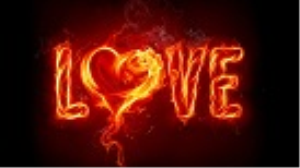 Love Fire Wallpapper | Photos and Images | Fine Art