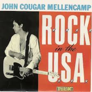ROCK in the USA John Cougar Mellencamp Lead Sheet back vocals | Music | Country