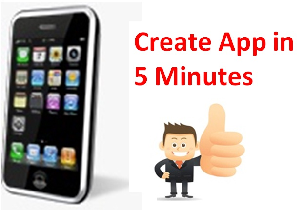 Instant iphone app builder create iphone apps in 5 minutes for Designing an app for iphone