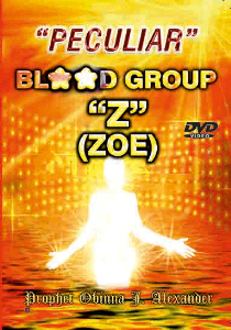 """peculiar"" Blood Group Z (Zoe) 