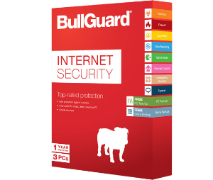 bullguard internet security 2015 - 1year - 3 pcs