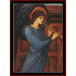 Angel - Burne-Jones cross stitch pattern by Cross Stitch Collectibles | Crafting | Cross-Stitch | Wall Hangings