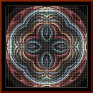 Fractal 475 cross stitch pattern by Cross Stitch Collectibles | Crafting | Cross-Stitch | Wall Hangings