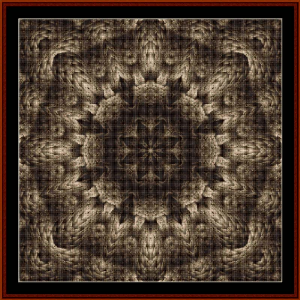 Fractal 477 cross stitch pattern by Cross Stitch Collectibles   Crafting   Cross-Stitch   Wall Hangings