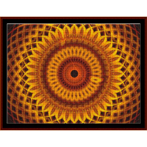 Fractal 479 cross stitch pattern by Cross Stitch Collectibles | Crafting | Cross-Stitch | Other