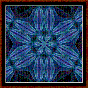 Fractal 481 cross stitch pattern by Cross Stitch Collectibles | Crafting | Cross-Stitch | Wall Hangings
