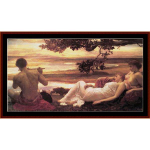 Idyll - Leighton cross stitch pattern by Cross Stitch Collectibles | Crafting | Cross-Stitch | Wall Hangings