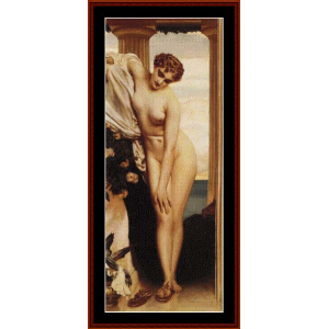 Standing Nude - Leighton cross stitch pattern by Cross Stitch Collectibles | Crafting | Cross-Stitch | Wall Hangings